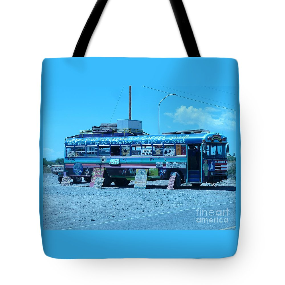 Signs Tote Bag featuring the photograph Coffee Anyone? by Karen Granado