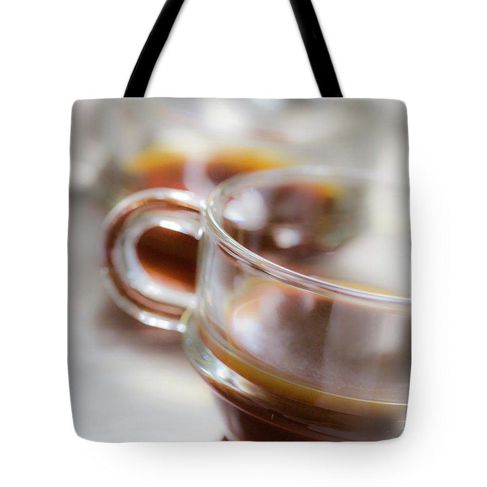 Coffee Tote Bag featuring the photograph Coffee by Keith May