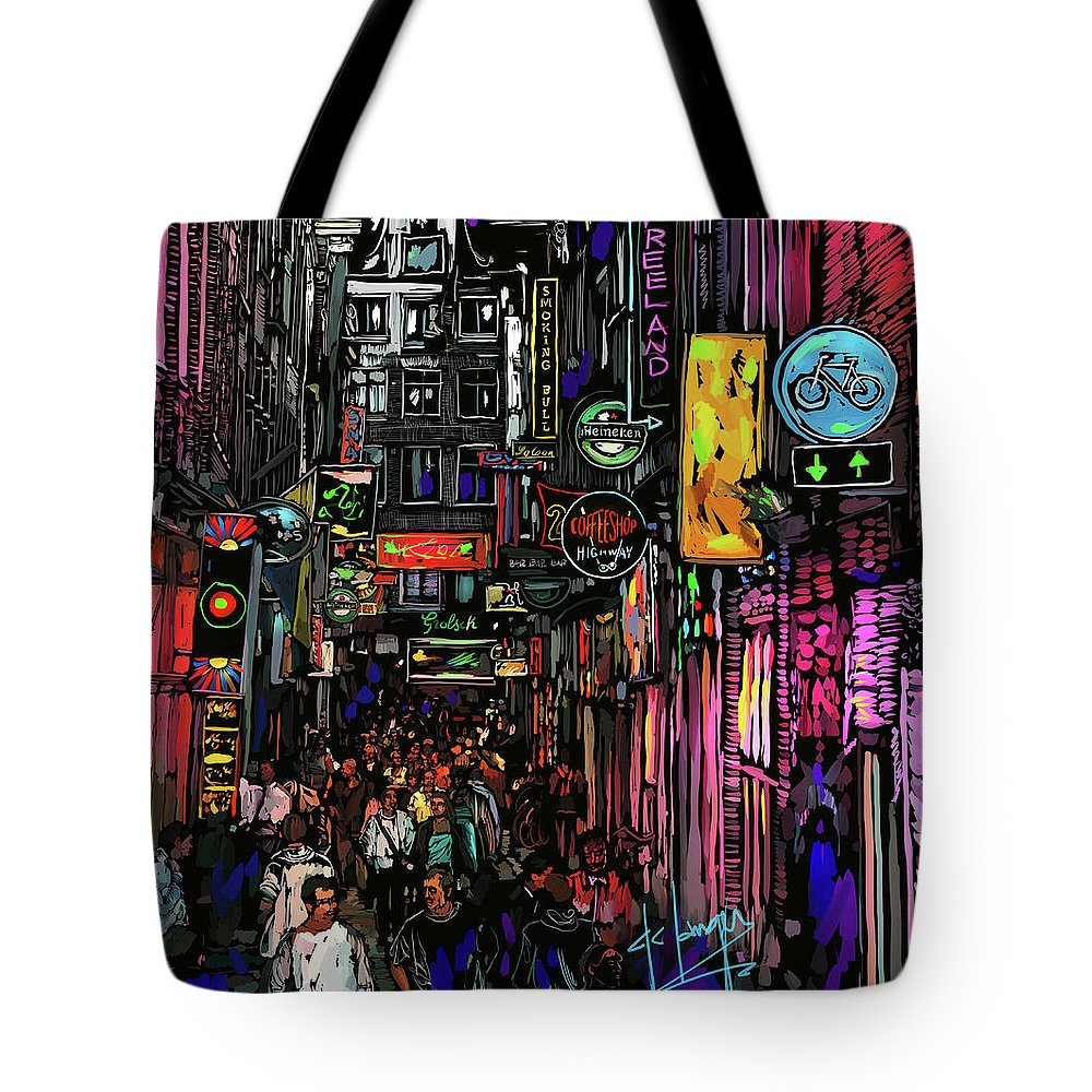 Coffee Shop Amsterdam Tote Bag