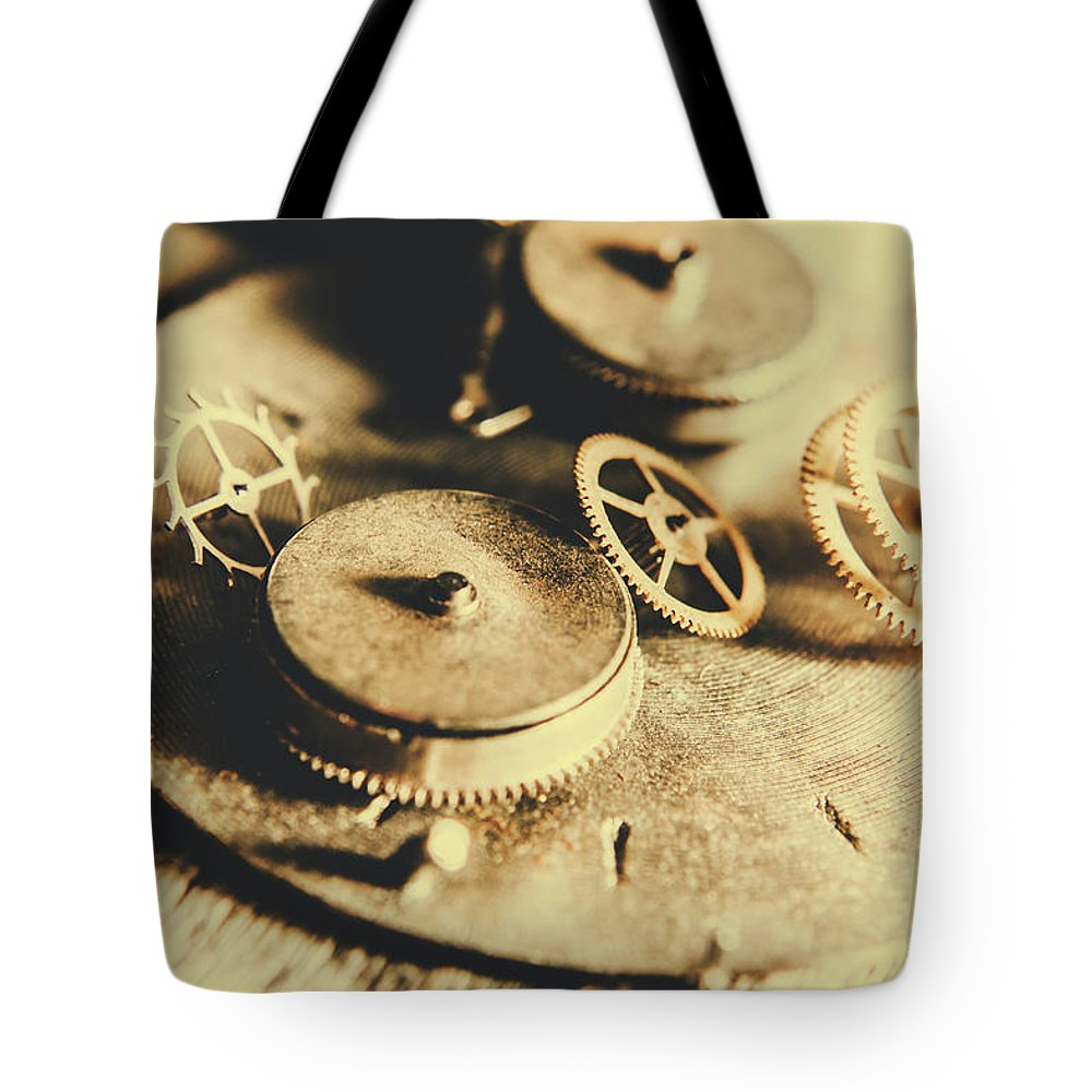 Cog And Gear Workings Tote Bag for Sale by Jorgo Photography - Wall ...