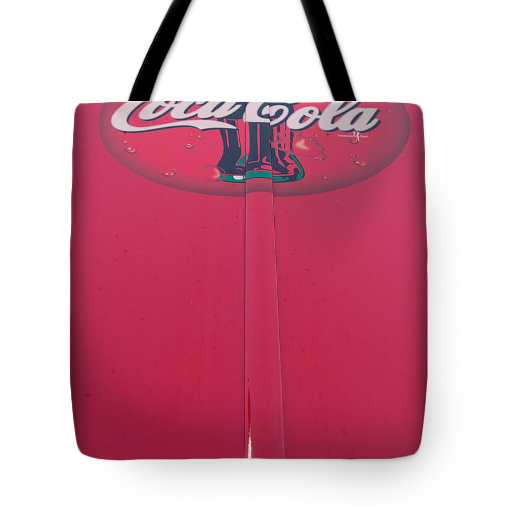 Coca Cola Tote Bag featuring the photograph Coke Lollipop by Scott Campbell
