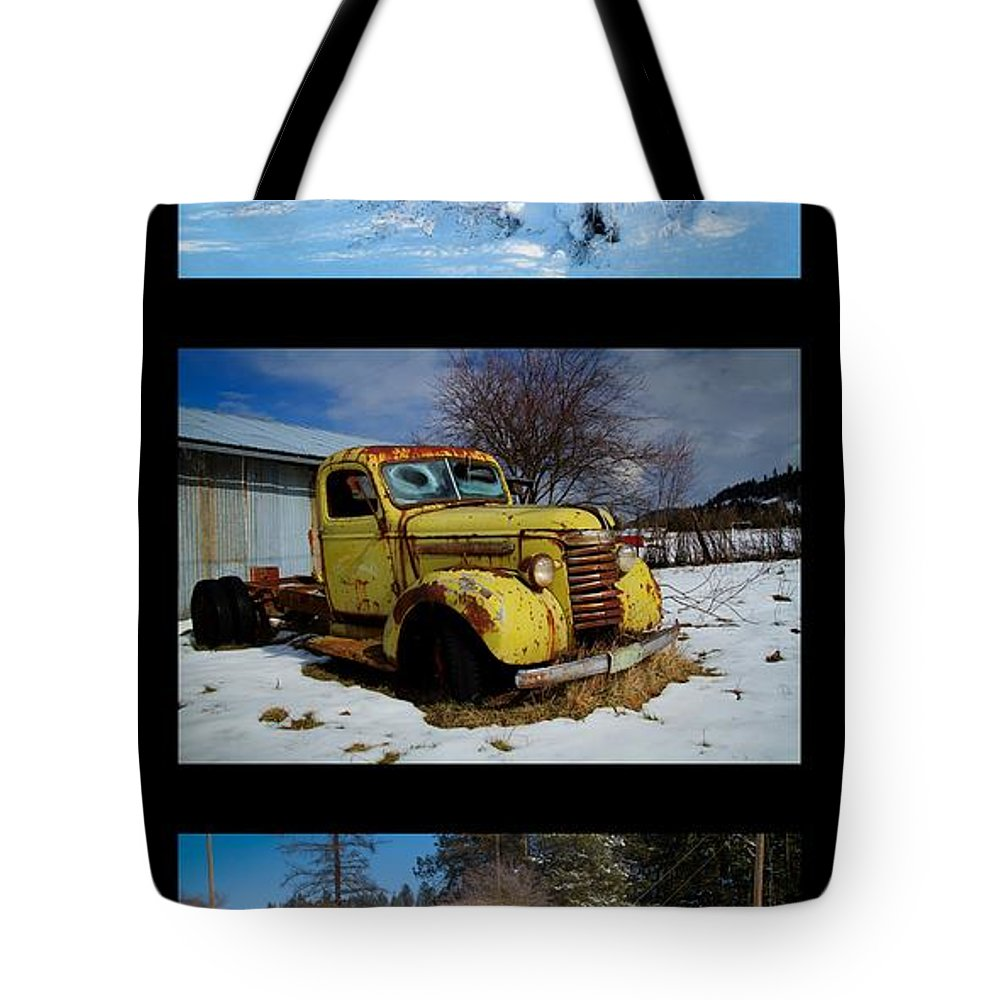 Trucks Tote Bag featuring the photograph Cold Guys by Idaho Scenic Images Linda Lantzy