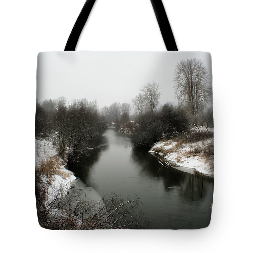 River Tote Bag featuring the photograph Cold River by Idaho Scenic Images Linda Lantzy
