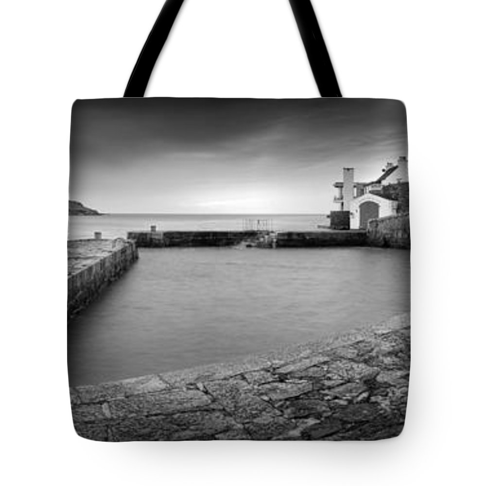 Dublin Tote Bag featuring the photograph Coliemore Harbour by Michal Pospisil