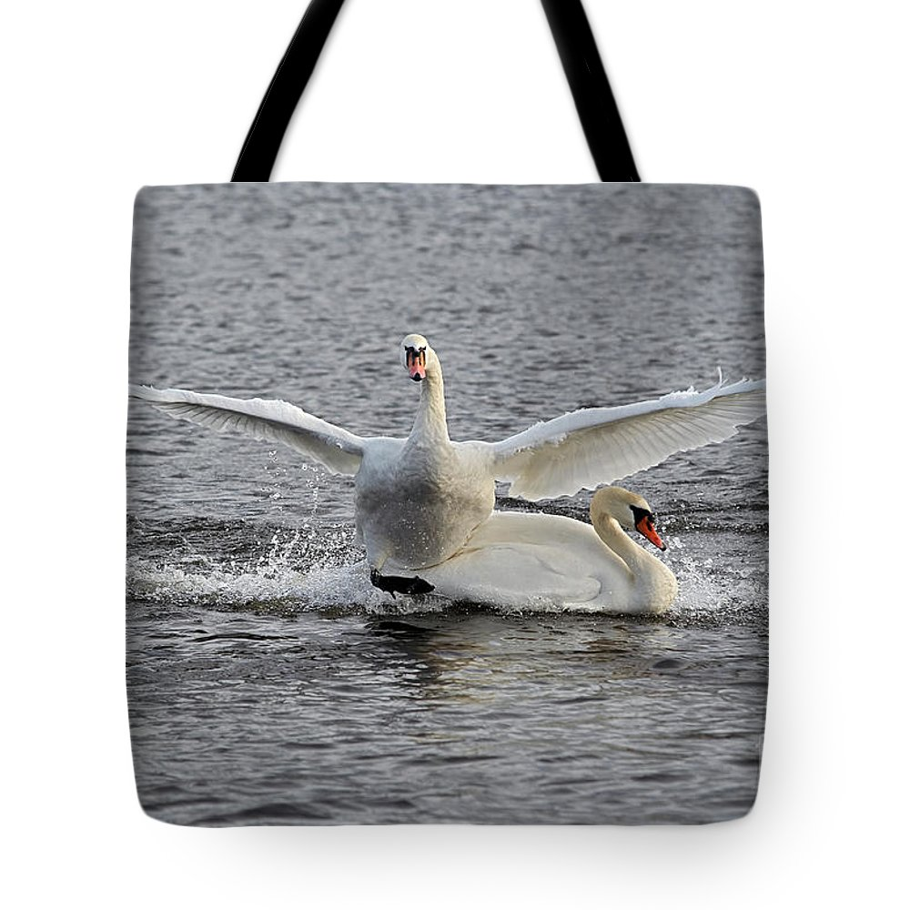 Nature Tote Bag featuring the photograph Collision by Michal Boubin