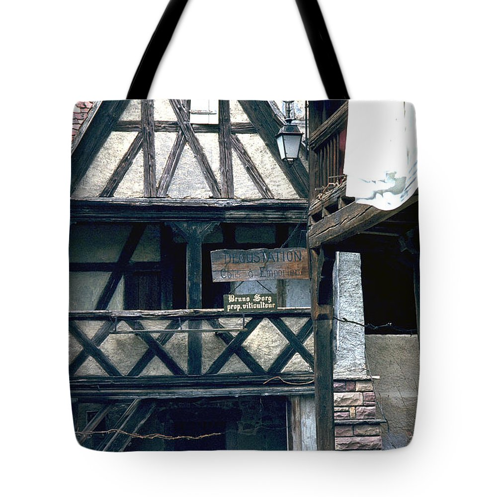 Colmar Tote Bag featuring the photograph Colmar by Flavia Westerwelle