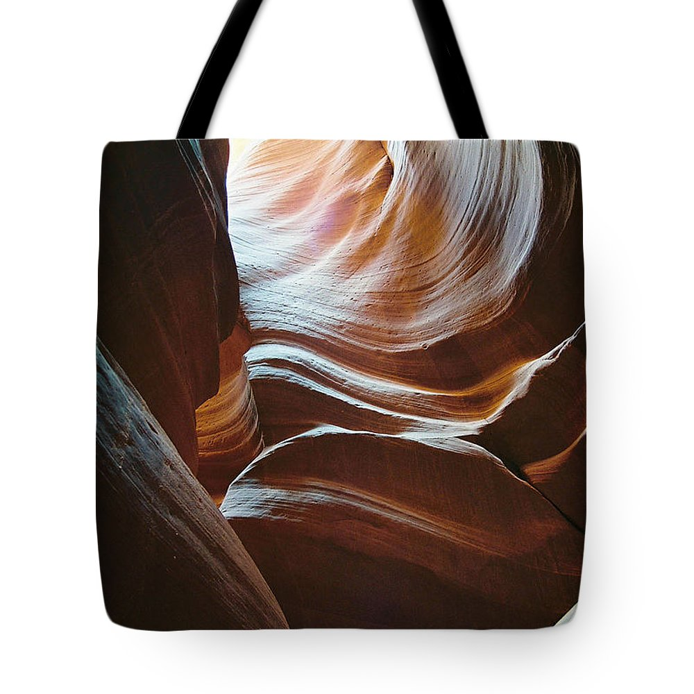 Landscape Tote Bag featuring the photograph Color And Curves by Cathy Franklin