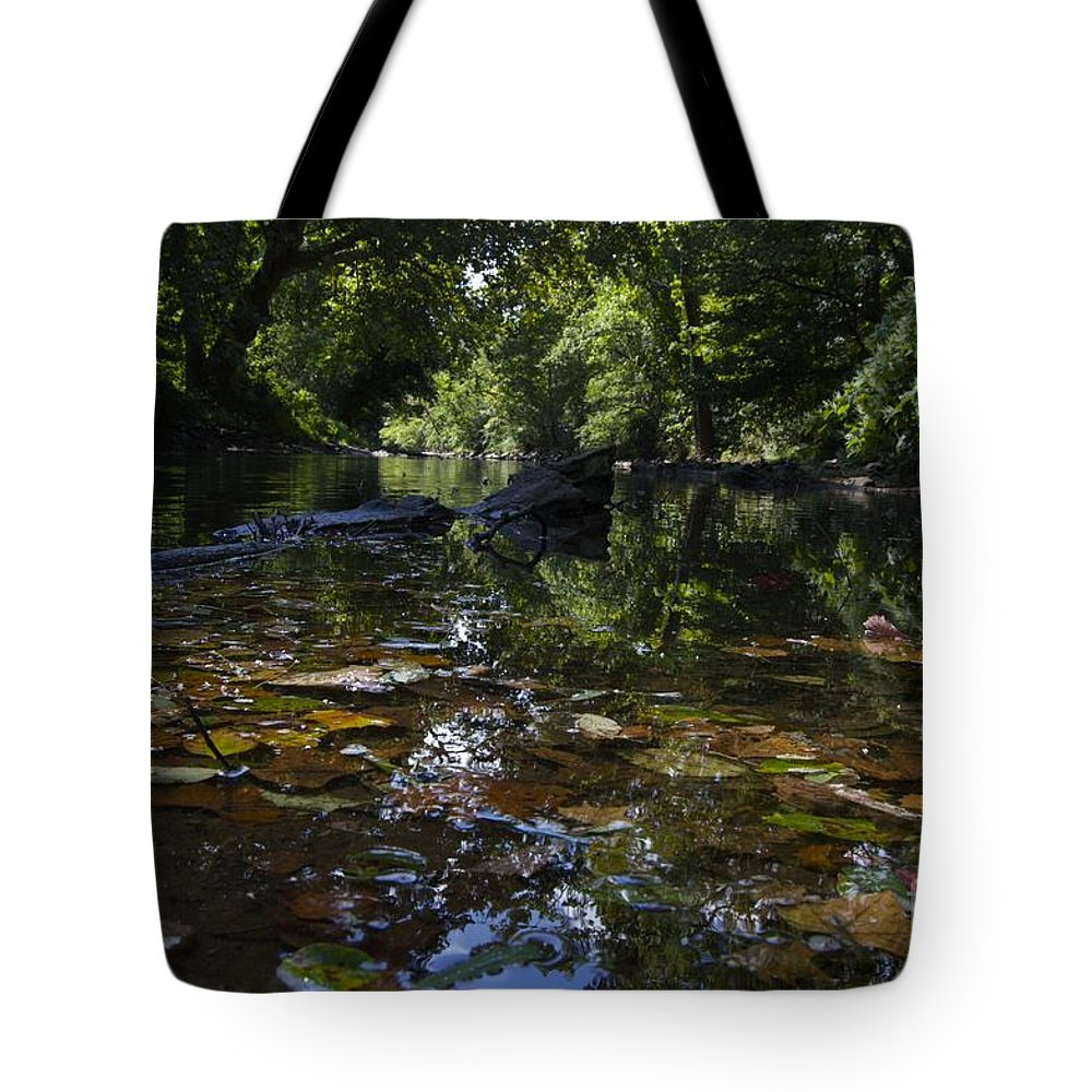 Creek Tote Bag featuring the photograph Color Creek by Jake Donaldson