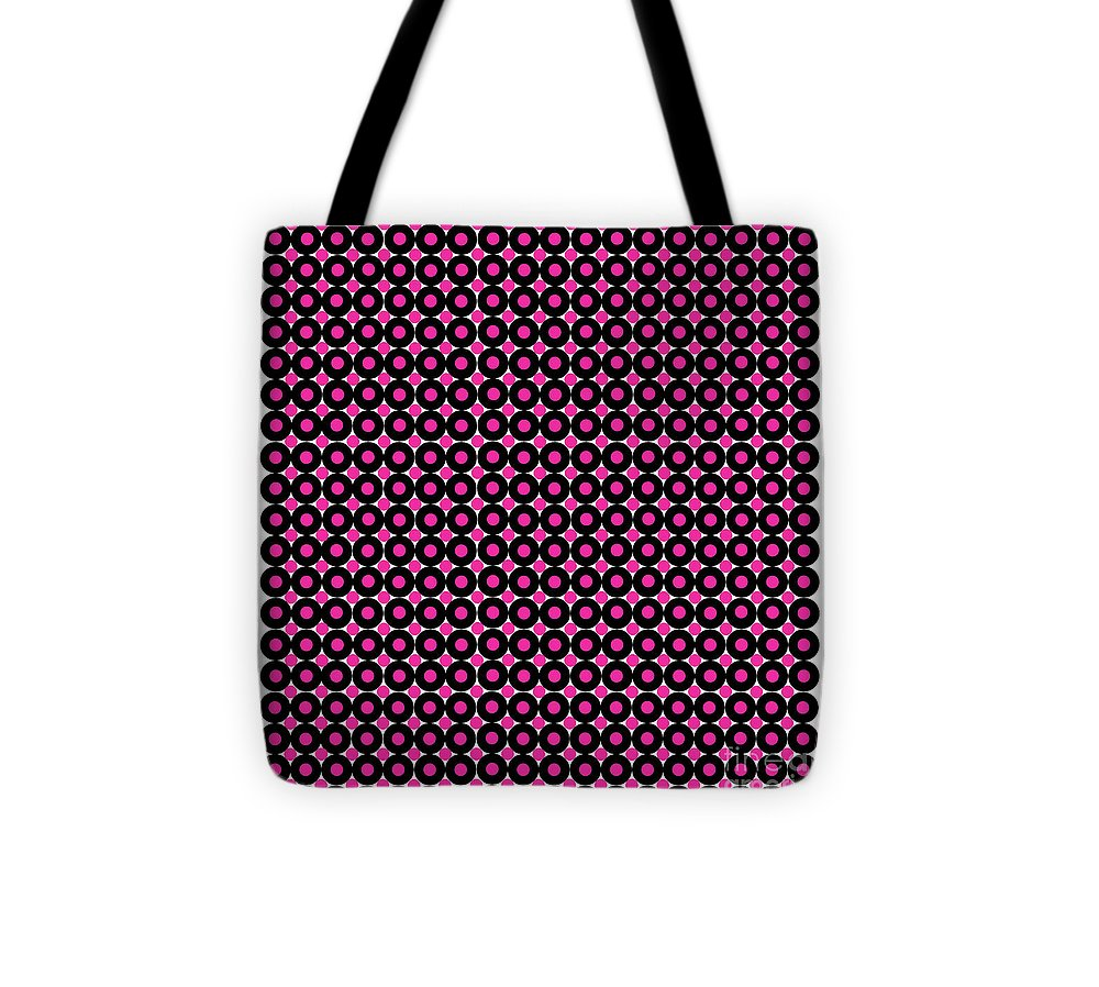 Illusion Tote Bag featuring the digital art Color Illusion No1. by Nancy Mergybrower