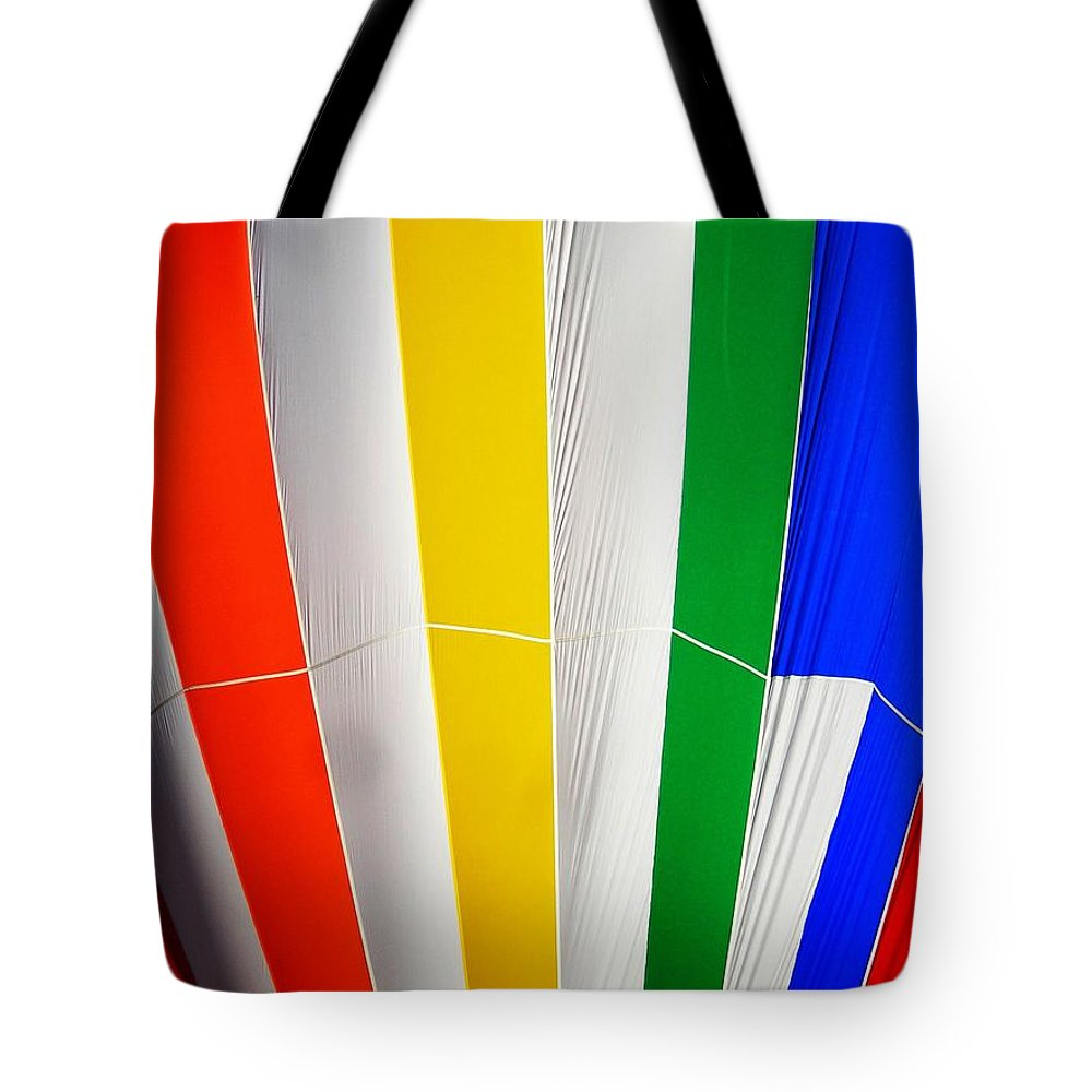 Hot Tote Bag featuring the photograph Color In The Air by Juergen Weiss