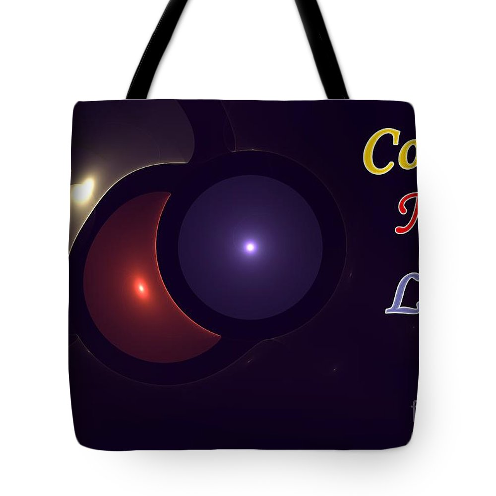 Color Tote Bag featuring the digital art Color My Life by Steve K