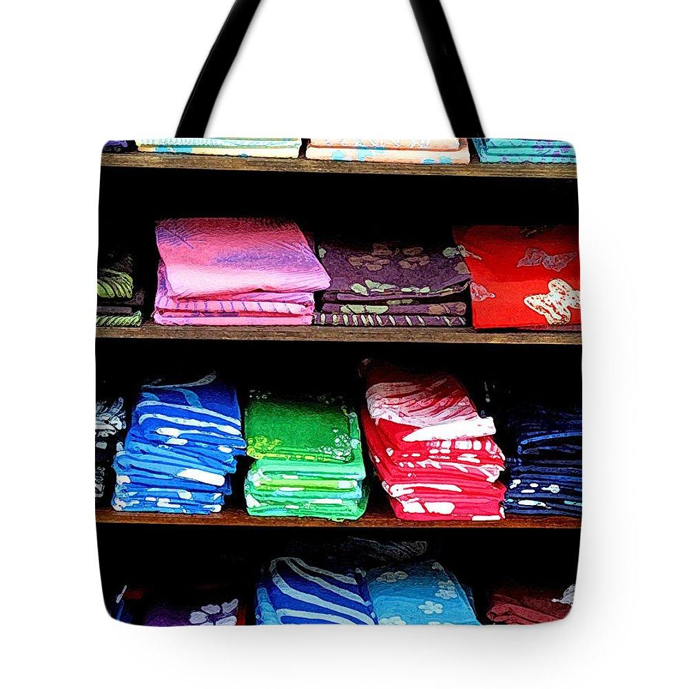 Batik Tote Bag featuring the photograph Color Rules by Ian MacDonald