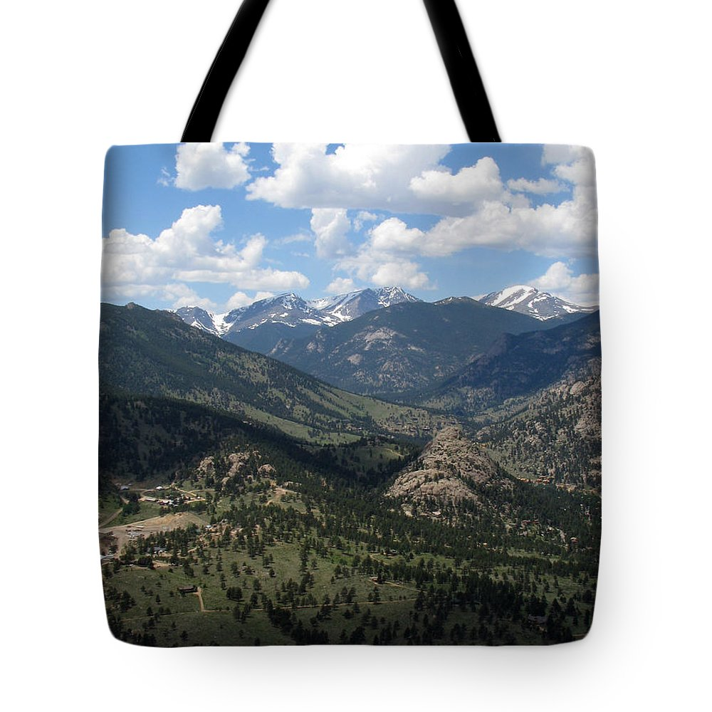 Colorado Tote Bag featuring the photograph Colorado by Amanda Barcon