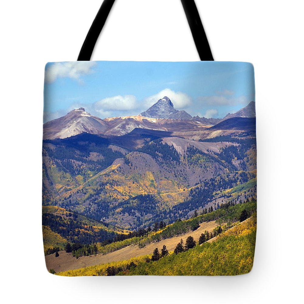 Mountains Tote Bag featuring the photograph Colorado Mountains 1 by Marty Koch
