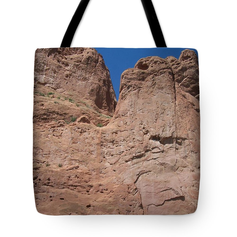 Colorado Tote Bag featuring the photograph Colorado Redrock by Anita Burgermeister