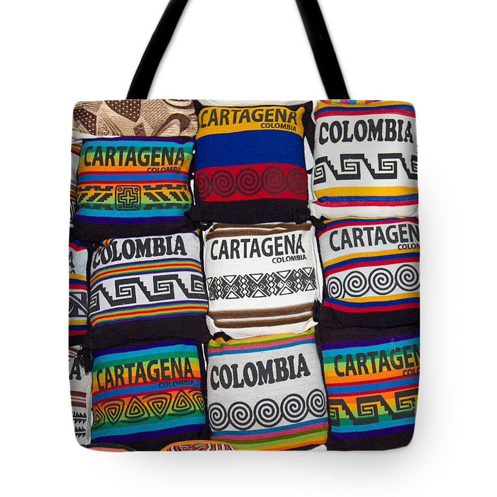 Tote Bag featuring the photograph Colorful Cartagena by Bob Hislop