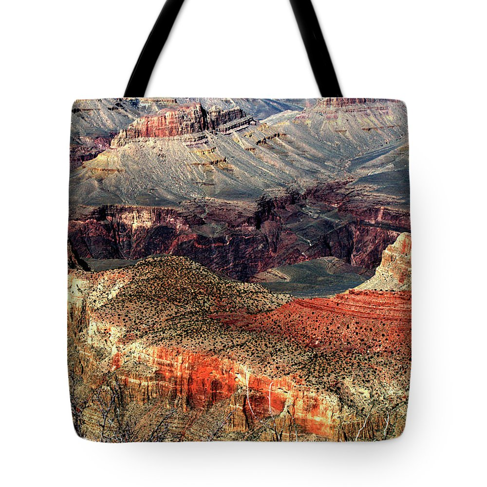 Grand Canyon Tote Bag featuring the photograph Colorful Grand Canyon by Paul Cannon