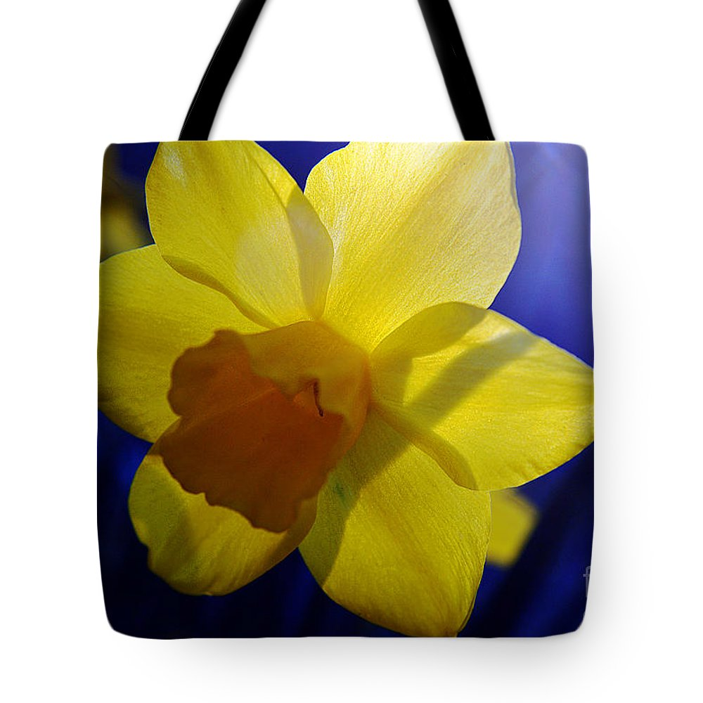 Clay Tote Bag featuring the photograph Colorful Spring Floral by Clayton Bruster