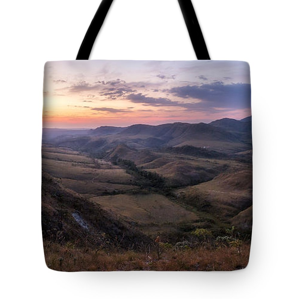Landscape Tote Bag featuring the photograph Colorful Valley by Victor Lima