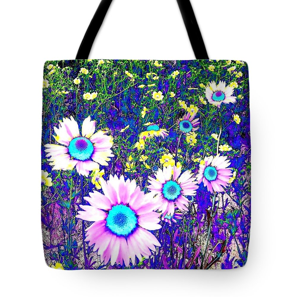 Photo Design Tote Bag featuring the digital art Colormax 2 by Will Borden