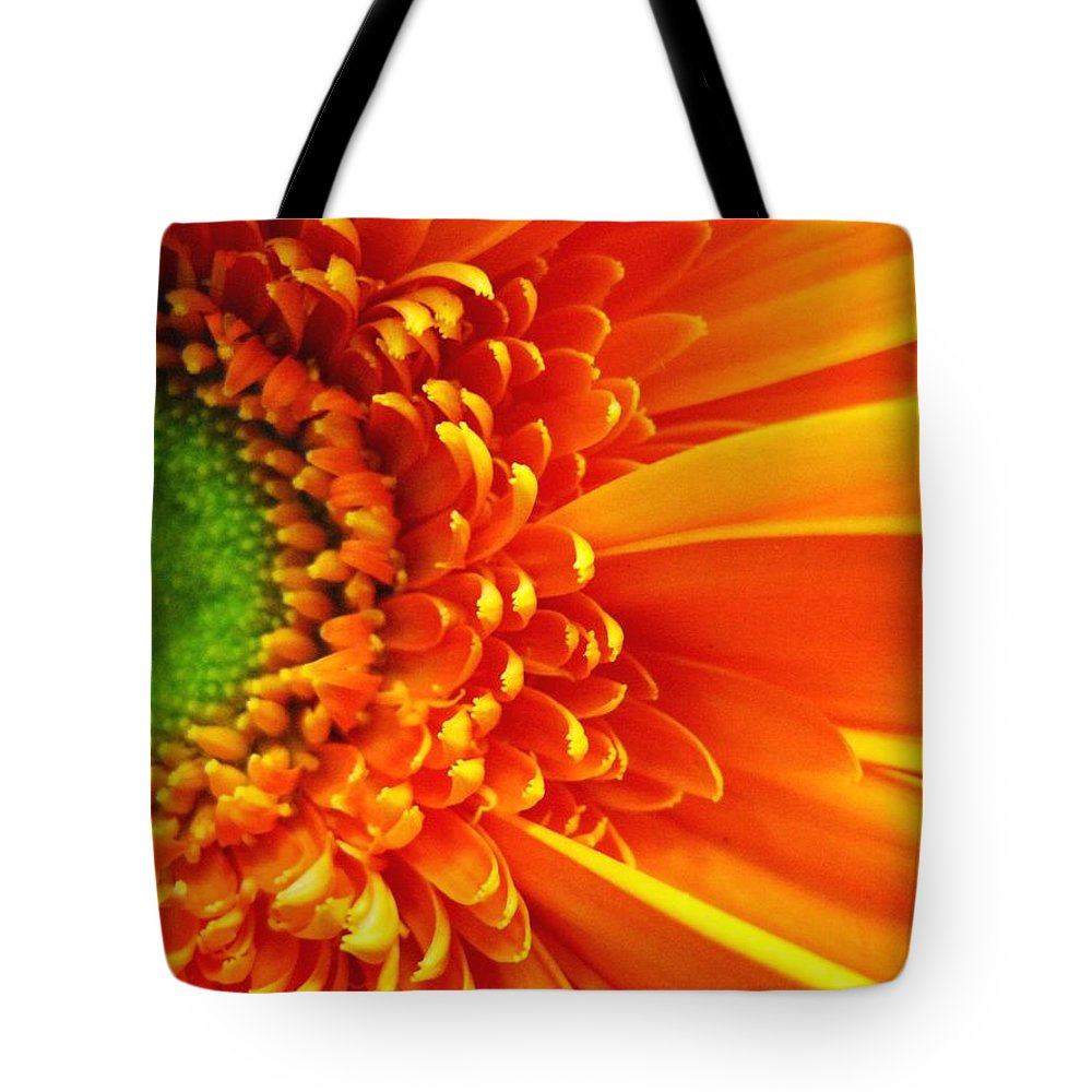 Red Tote Bag featuring the photograph Colors Galore by Rhonda Barrett