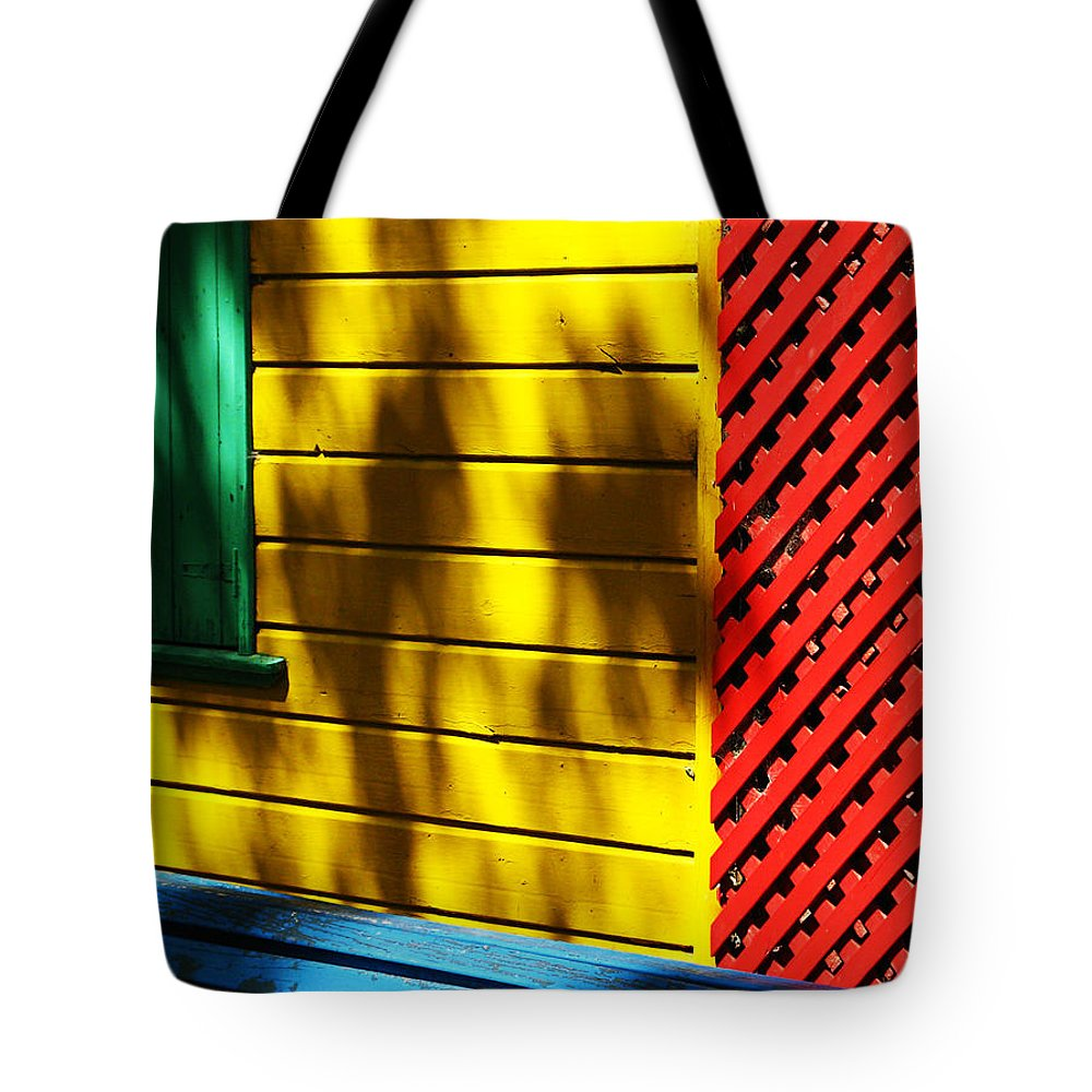 Buenos Aires Tote Bag featuring the photograph Colors by Osvaldo Hamer