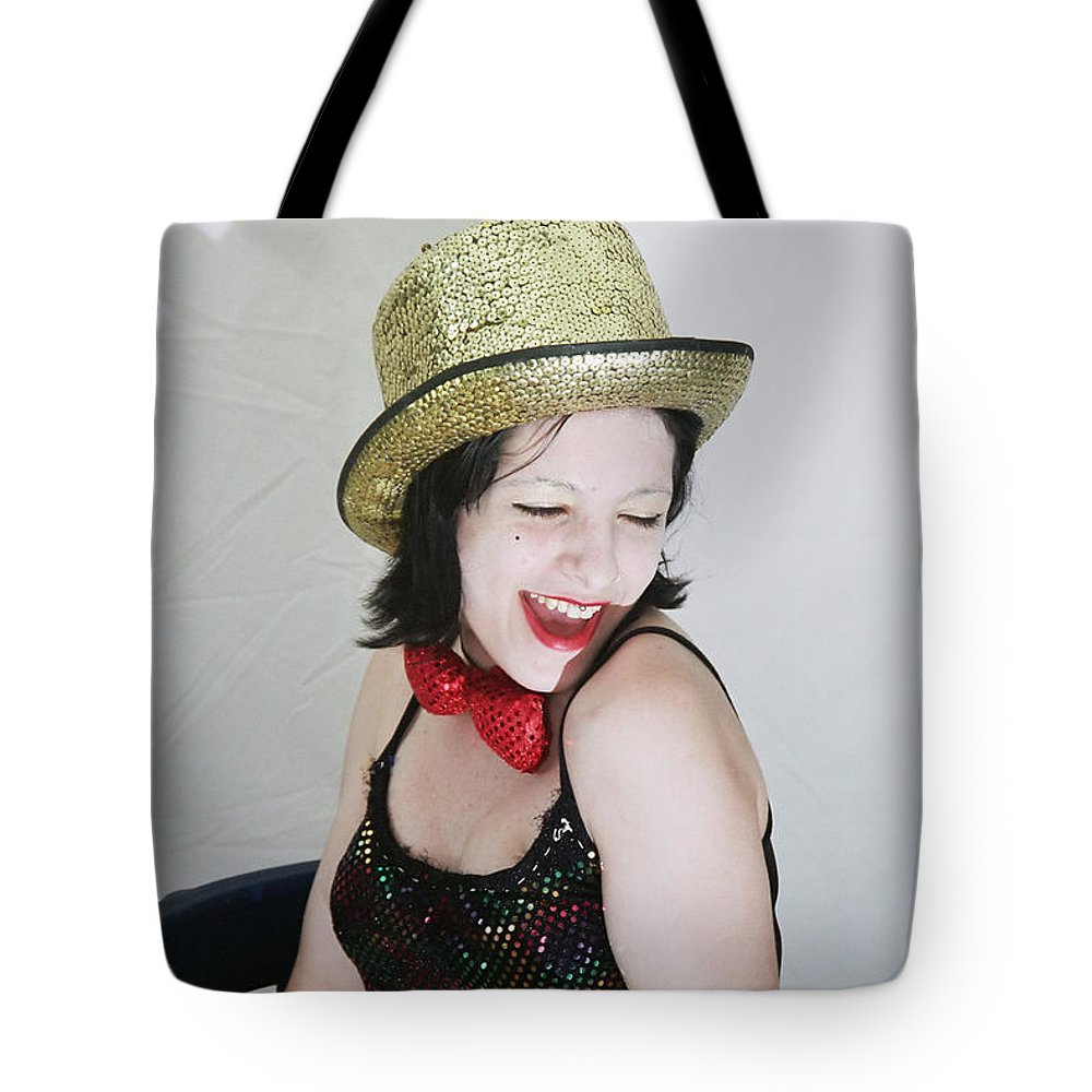 Columbia Tote Bag featuring the photograph Columbia During A Rhps Performance by Ilan Rosen