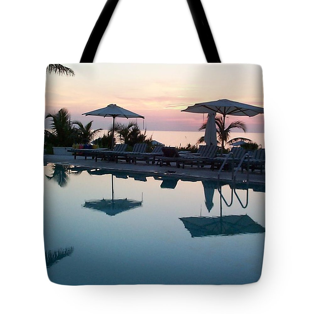 Charity Tote Bag featuring the photograph Columbus Isle by Mary-Lee Sanders