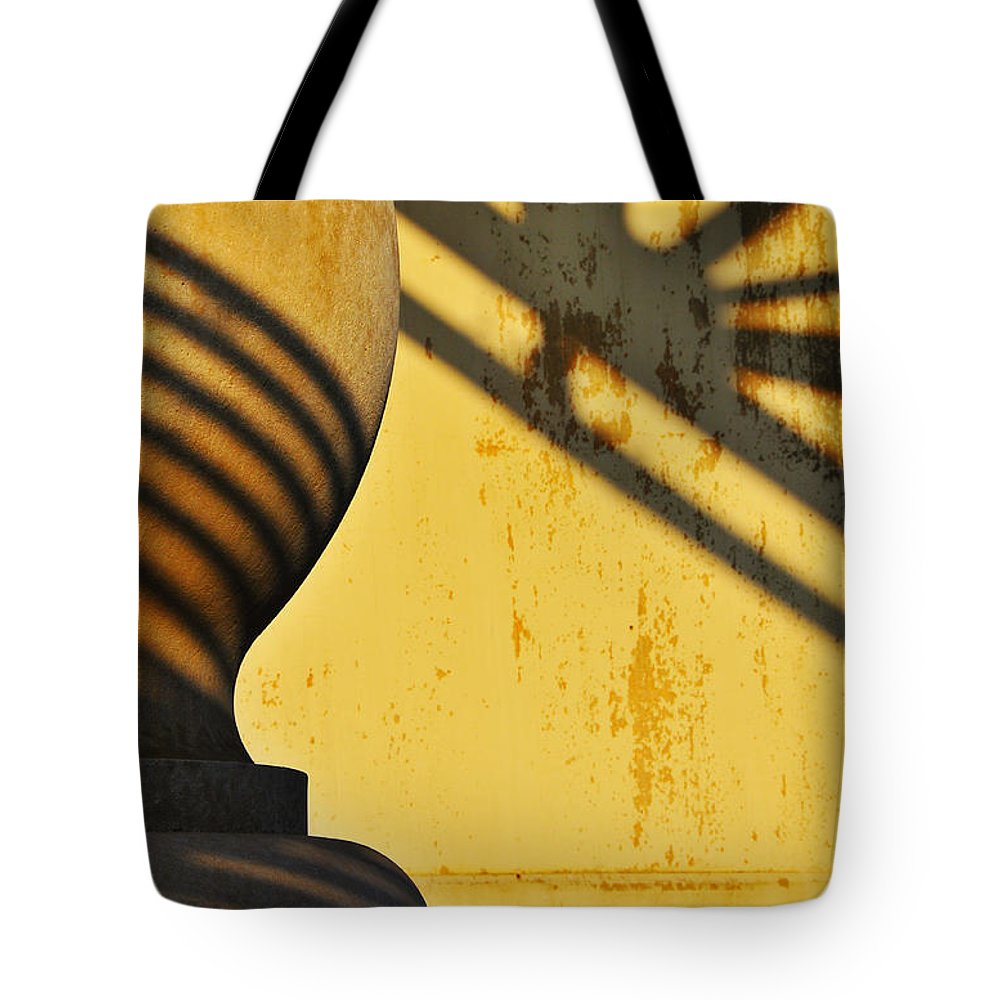 Architecture Tote Bag featuring the photograph Comb Over by Skip Hunt