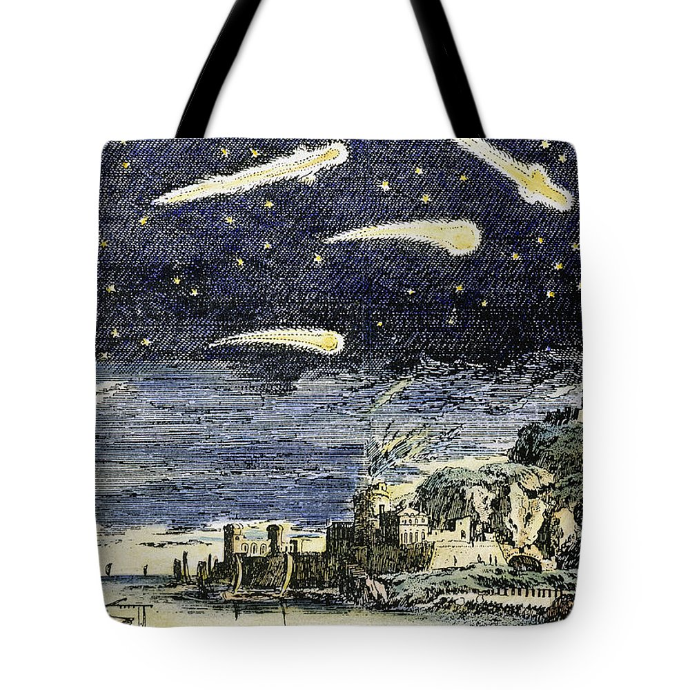 Comet Tote Bag featuring the photograph Comets by Granger