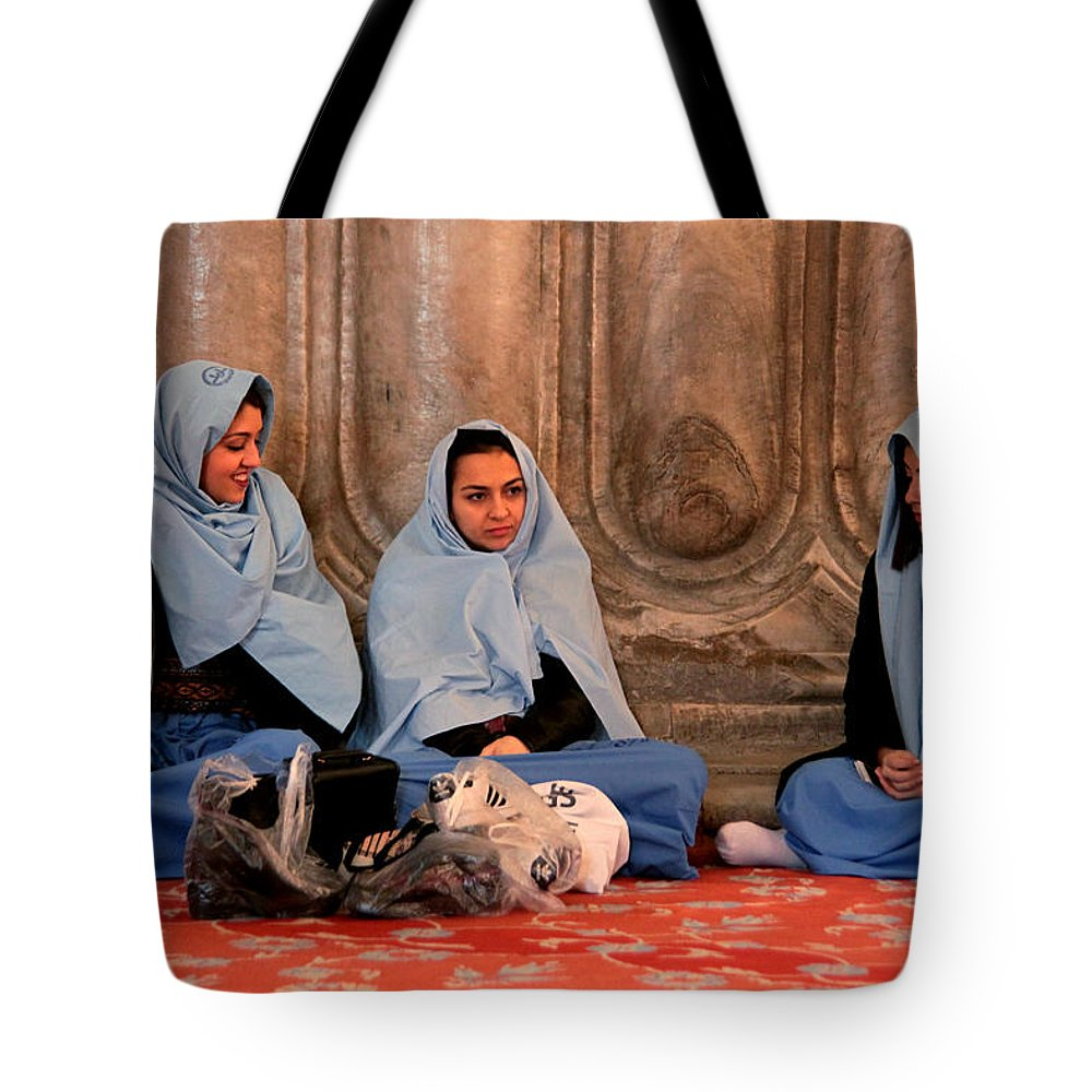 Istanbul Tote Bag featuring the photograph Comfort In Our Friendship by Jez C Self