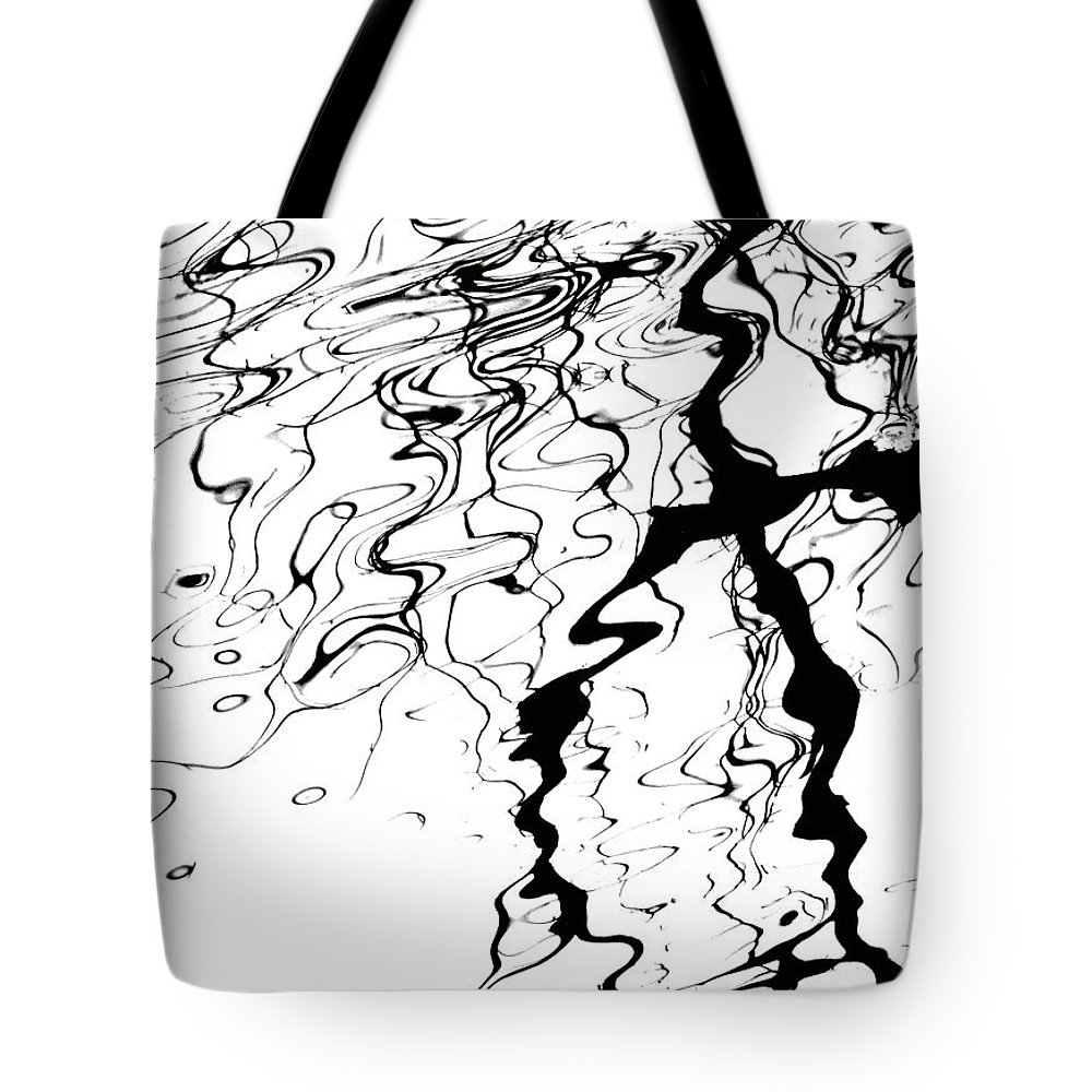 Water Tote Bag featuring the photograph Comic Relief by Donna Blackhall