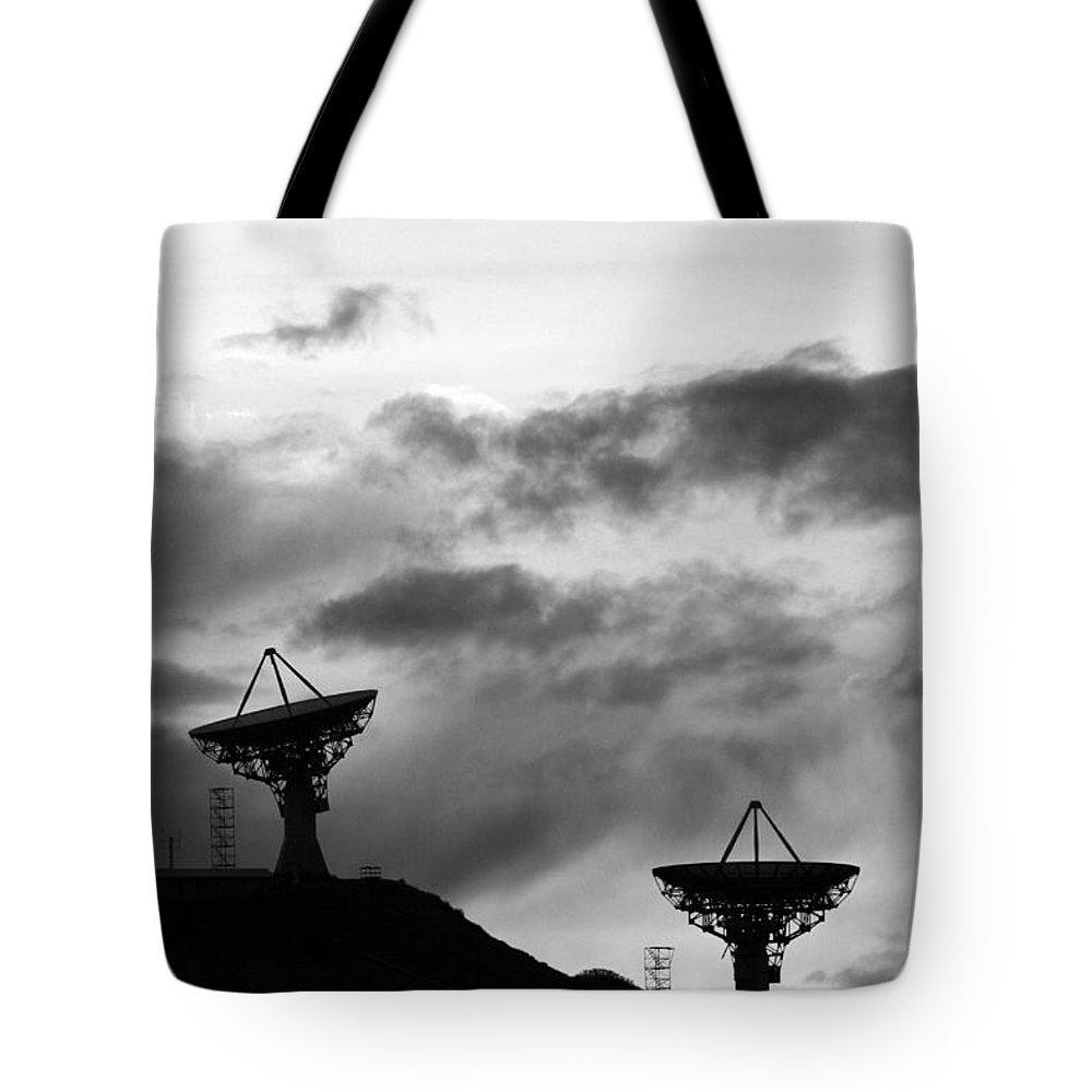 Antenna Tote Bag featuring the photograph Communication by James BO Insogna