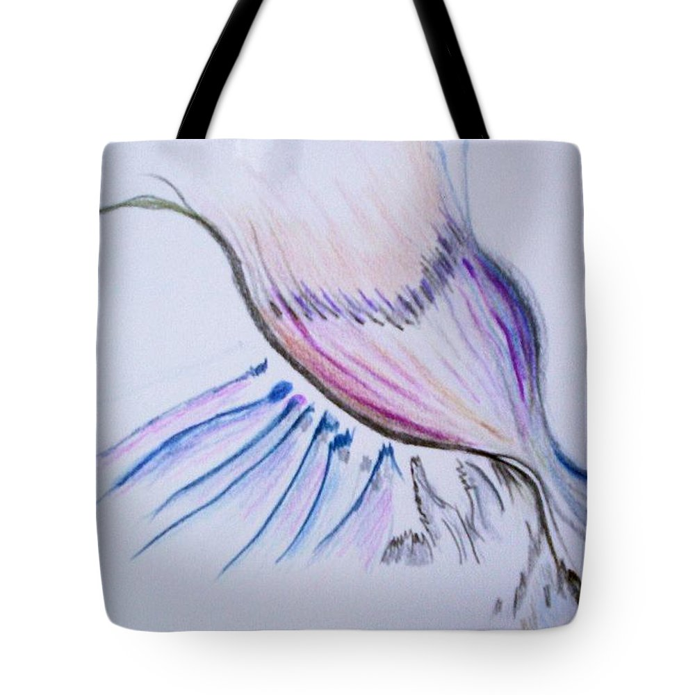 Abstract Painting Tote Bag featuring the painting Conception by Suzanne Udell Levinger