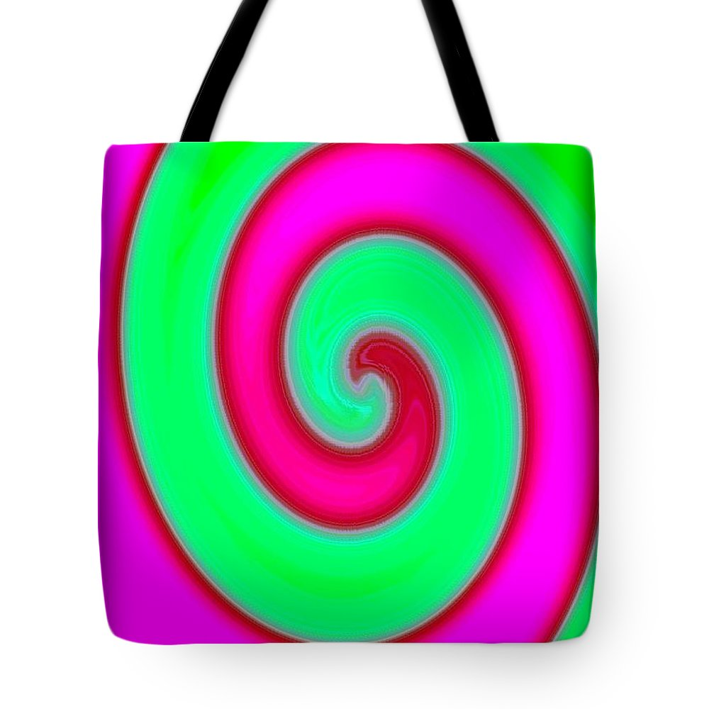 Abstract Tote Bag featuring the digital art Conceptual 4 by Will Borden