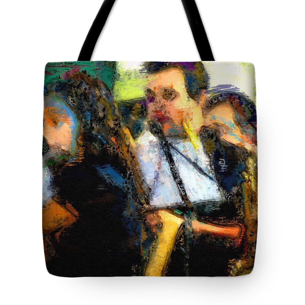Ebsq Tote Bag featuring the photograph Concert by Dee Flouton