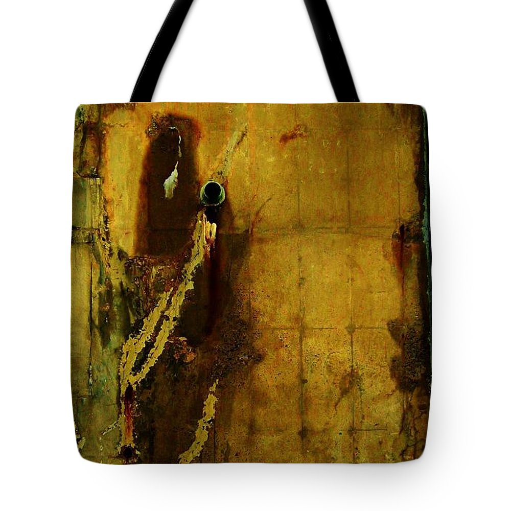 Concrete Objects Tote Bag featuring the photograph Concrete Canvas by Reb Frost