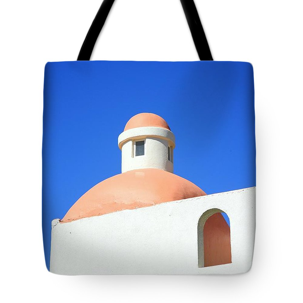 Building Tote Bag featuring the photograph Conejos by J R Seymour