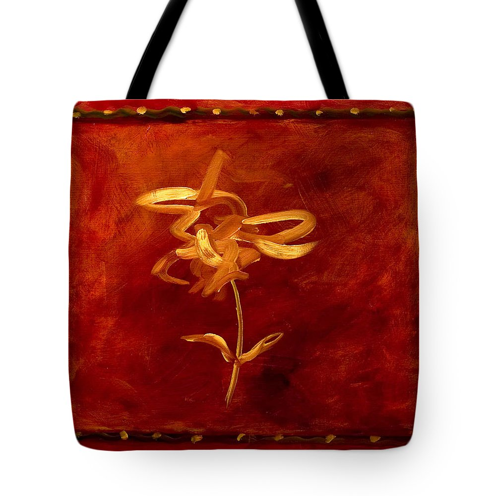 Abstract Tote Bag featuring the painting Confidence by Shannon Grissom
