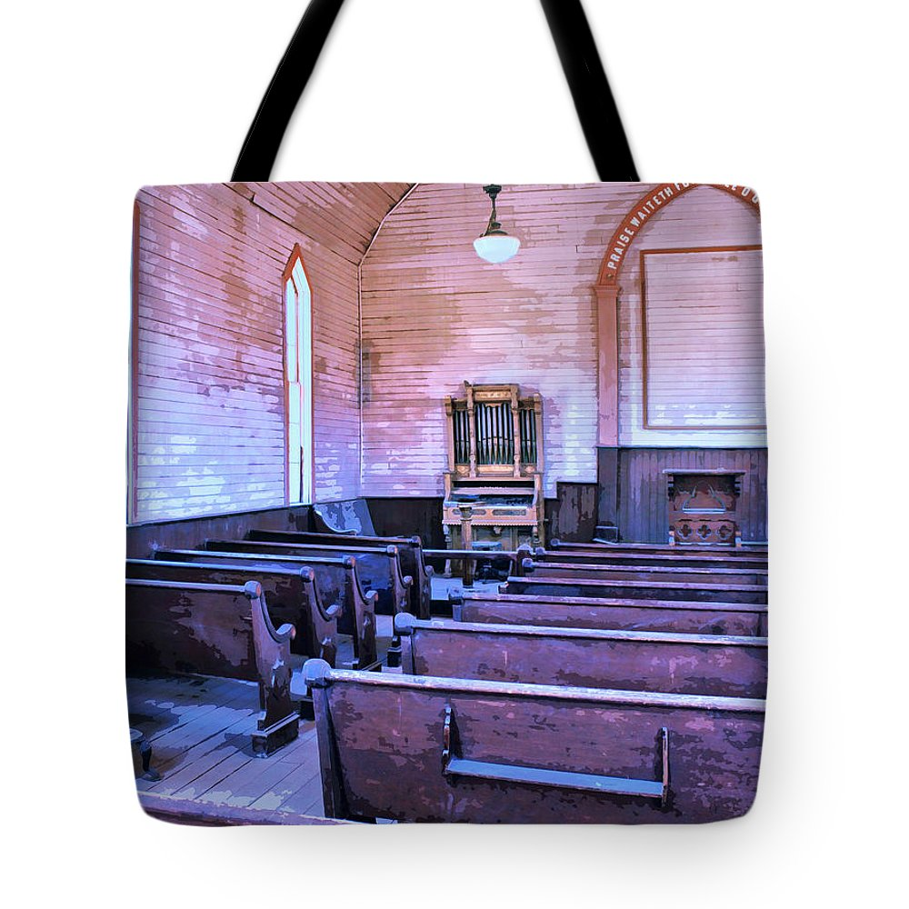 Bodie Ghost Town Mixed Media Tote Bags