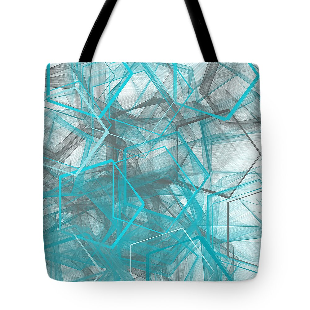 Mathematic Paintings Tote Bags