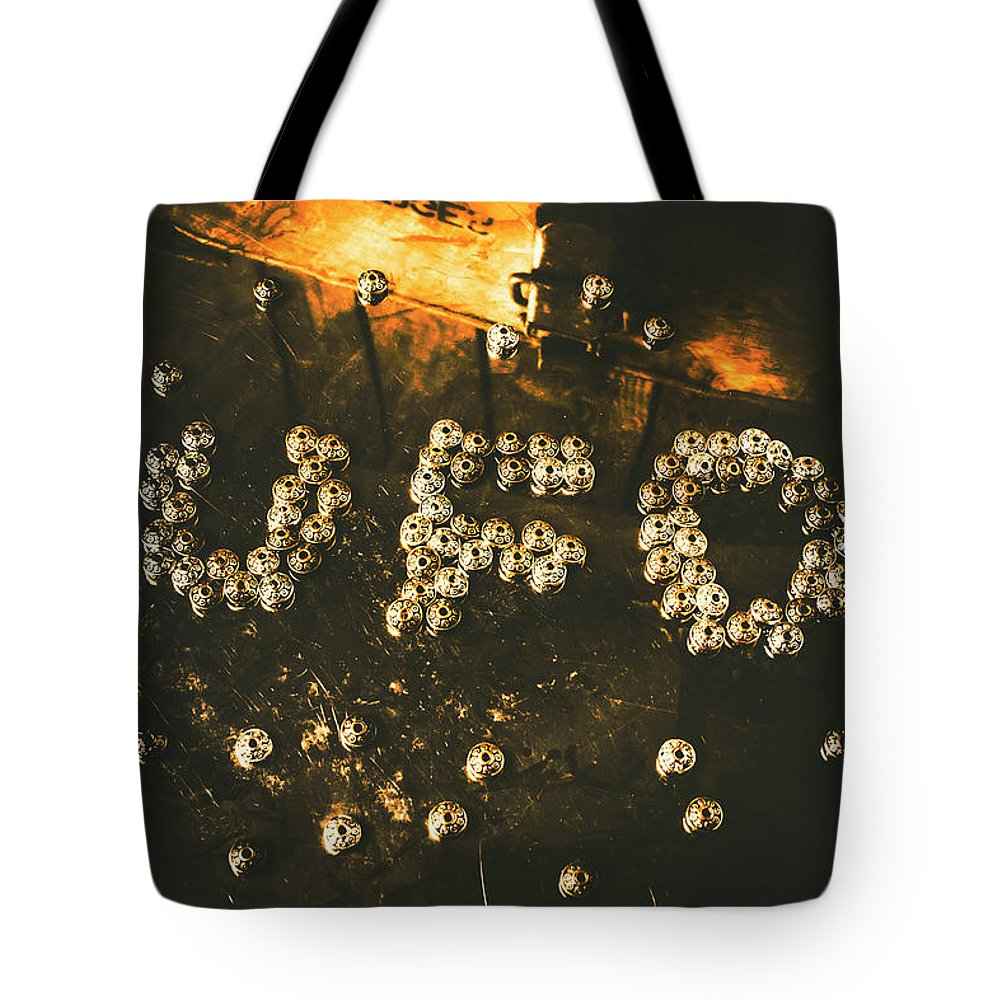 Ufo Tote Bag featuring the photograph Connecting To Ufology by Jorgo Photography - Wall Art Gallery