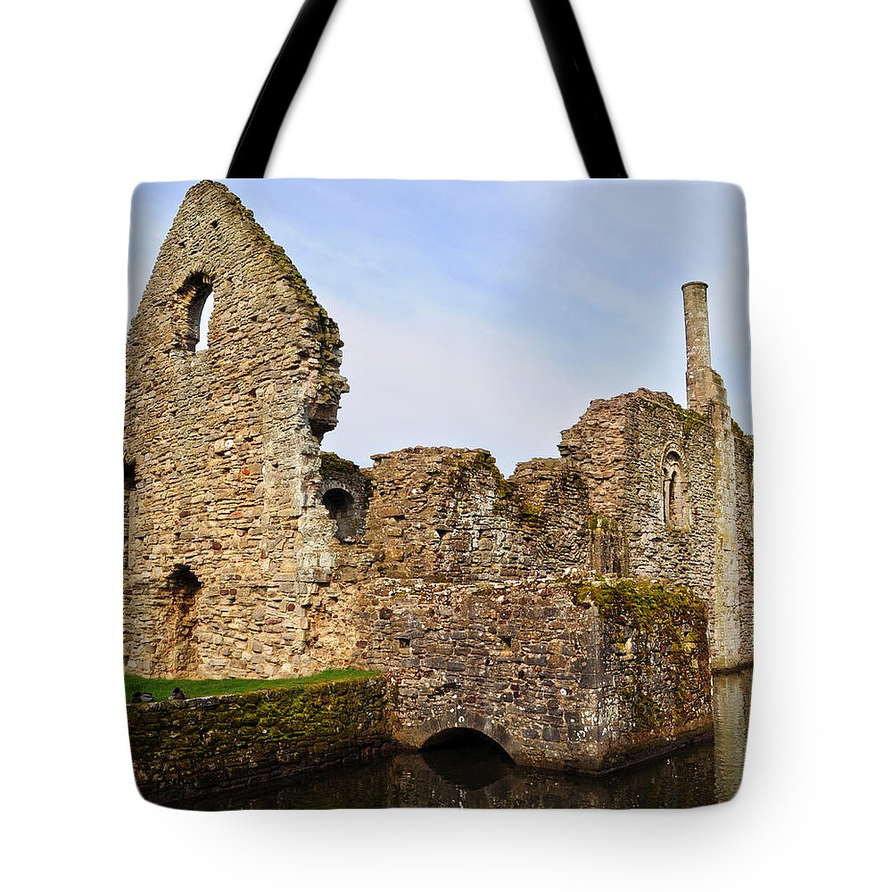 Christchurch Tote Bag featuring the photograph Constable's House Dorset by Chris Day