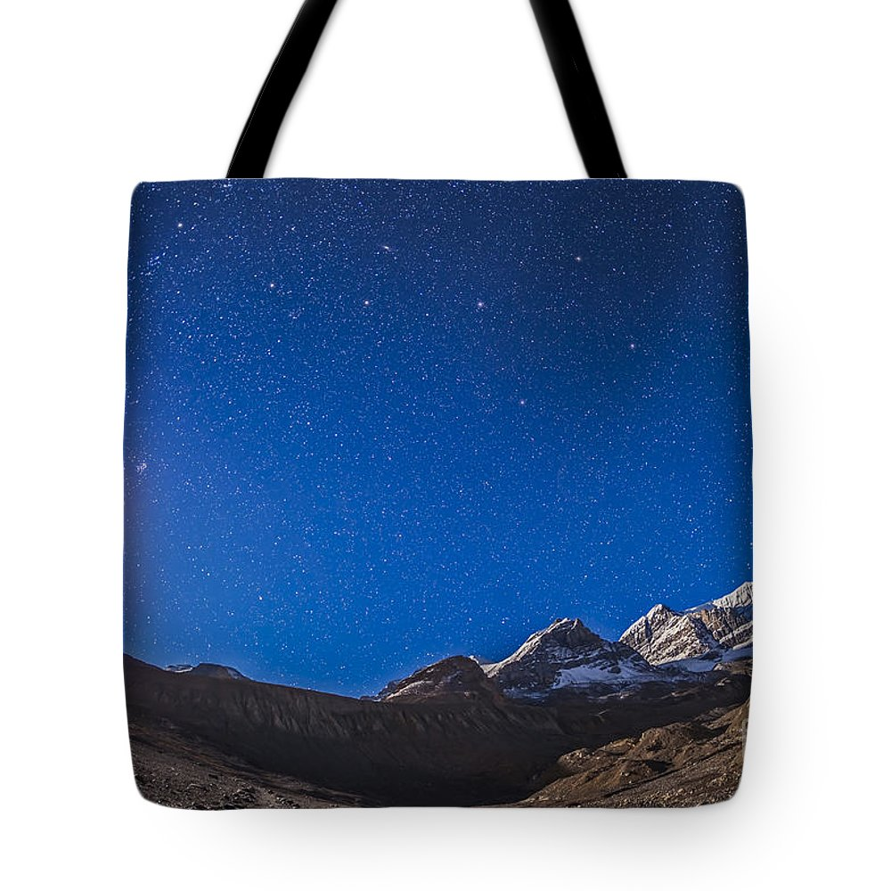 Andromeda Tote Bag featuring the photograph Constellations Of Perseus, Andromeda by Alan Dyer