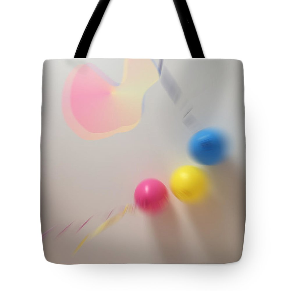 Tote Bag featuring the digital art Constraints by Arnas Dilys