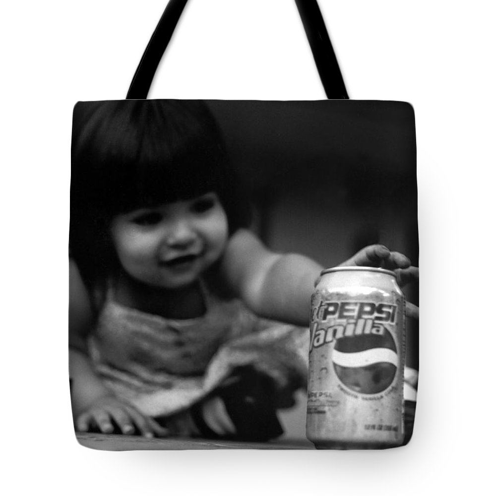 Dark Art Tote Bag featuring the photograph Consumer by Peter Piatt