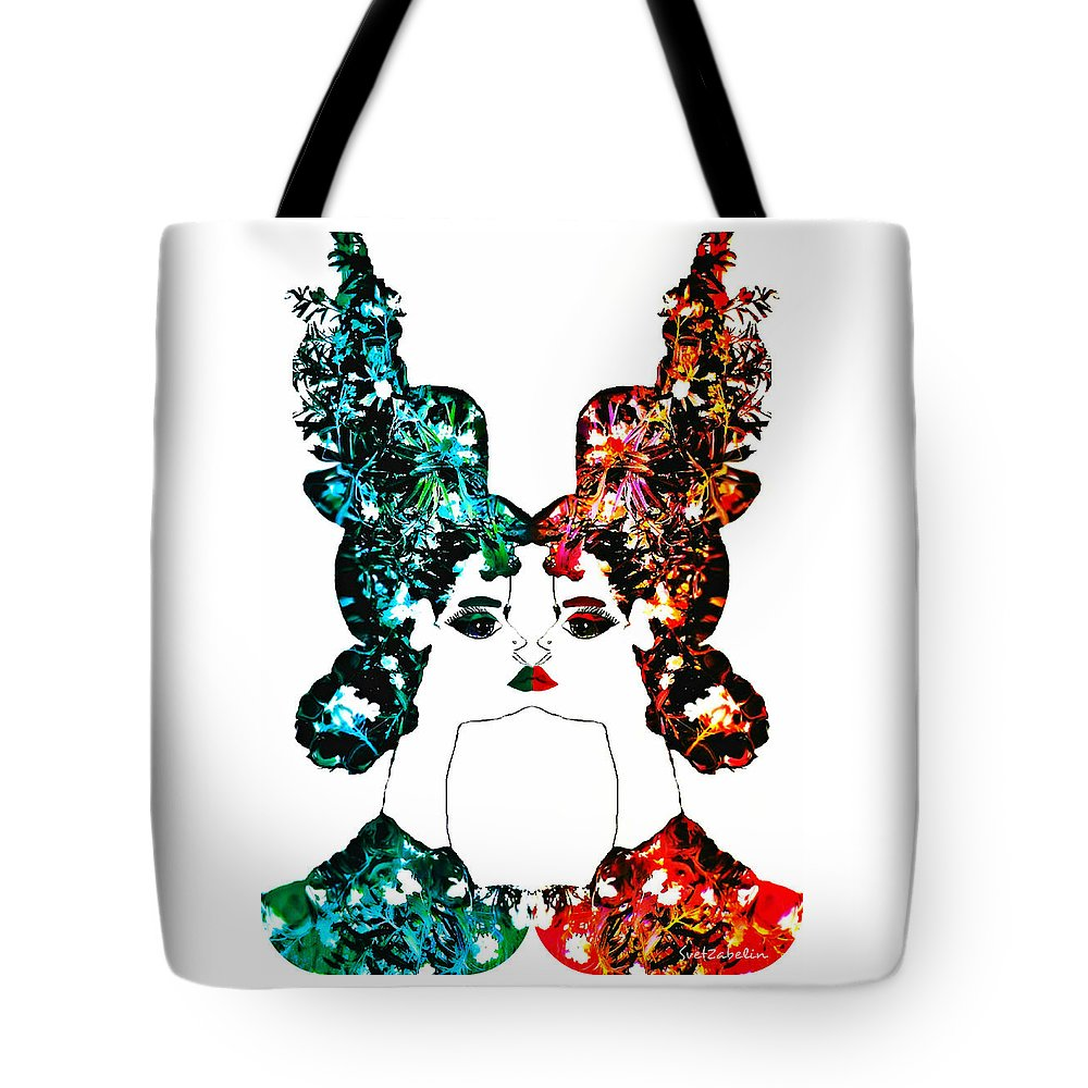 Photo Tote Bag featuring the photograph Contact With Nature by Svetlana Zabelina