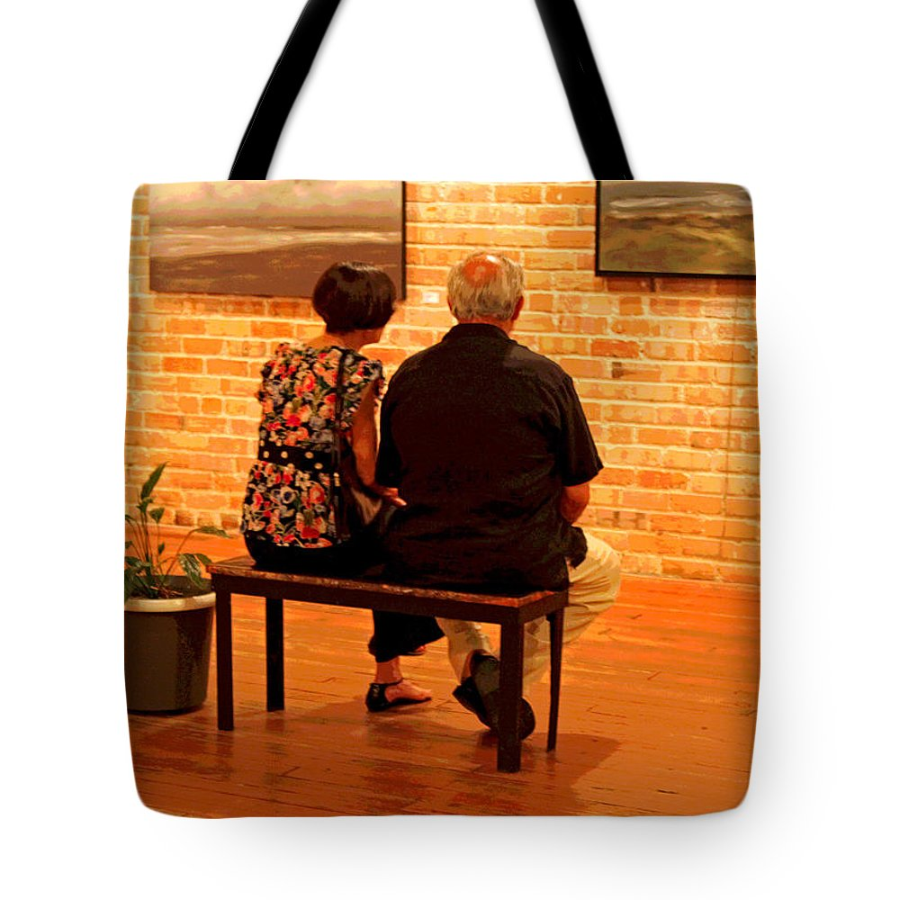Museum Tote Bag featuring the photograph Contemplating Spirituality by Suzanne Gaff
