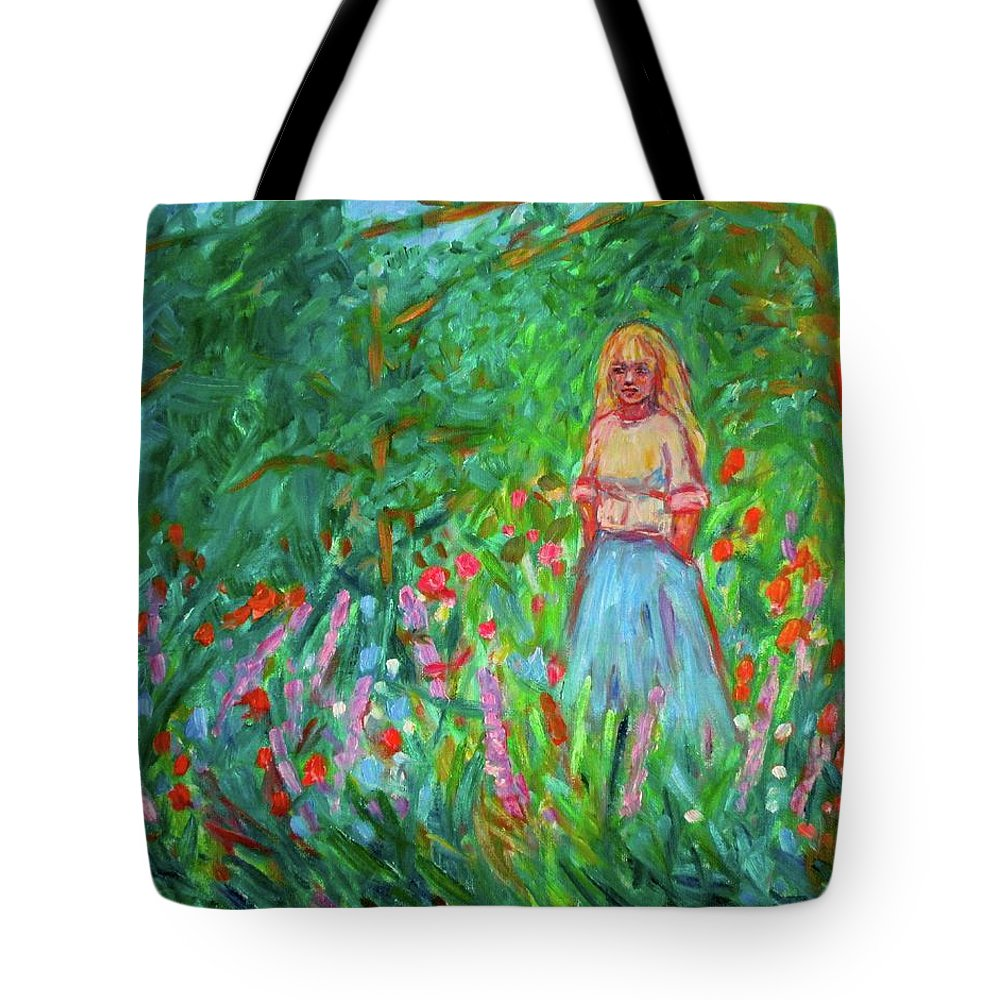 Landscape Tote Bag featuring the painting Contemplation by Kendall Kessler