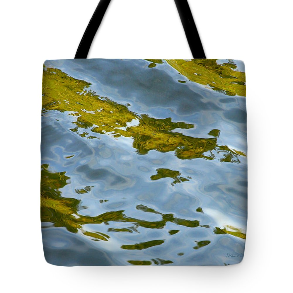 Water Tote Bag featuring the photograph Continental Drift by Donna Blackhall